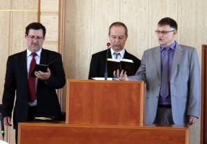 Közös istentisztelet a pécsi gyülekezetben