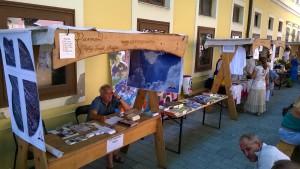 Adventisták Szombathely főterén, a Savaria Történelmi Karneválon