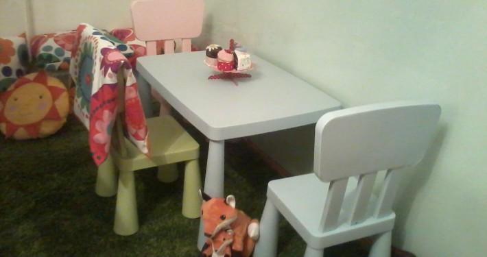 Babasarok - kisasztal