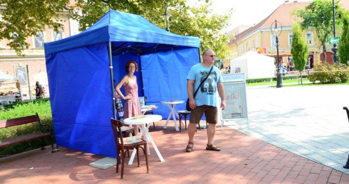 Lelki betérő sátor a nagykanizsai Dödölle fesztiválon