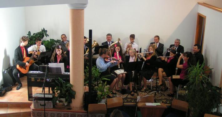 Zenei programok a Hévízi Gyülekezetben