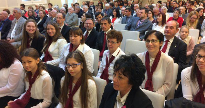 A Budapest Újbudai Gyülekezet látogatása Terézvárosban