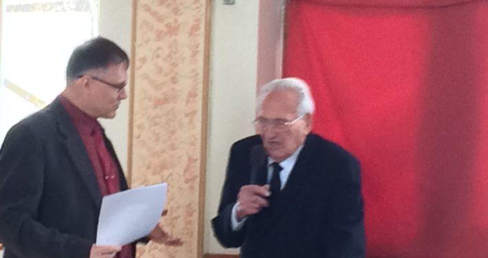 90 éves születésnap Pécsett